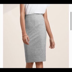 Wilfred sz s lis skirt grey speckle